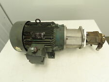 Rexroth R902438335001 Axial Piston Variable Pump With15hp Motor 3600psi 488gpm