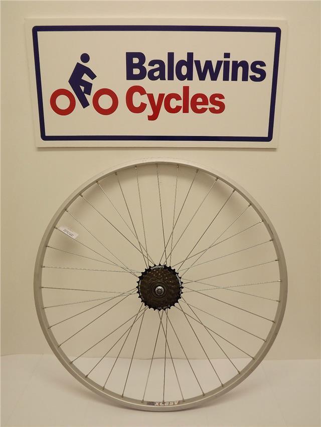 700c REAR NARROW HYBRID   ROAD Bike   Cycle Wheel + 7 SPEED FREEWHEEL
