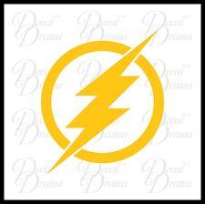 The Flash emblem XS Vinyl Car Decal, DC Comics, Justice League, Barry Allen