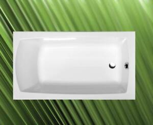 lily 120x70cm badewanne komplett mit f en frei haus ebay. Black Bedroom Furniture Sets. Home Design Ideas