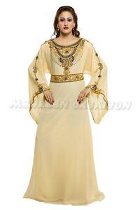 DUBAI BRIDAL FARASHA MODERN JILBAB ARABIAN WOMEN CLOTHING EDH 1020