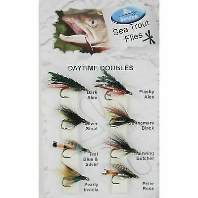 Flash Damsel Size 10 and Mixed Fritz Trout Flies 18 Pack Hothead Lures