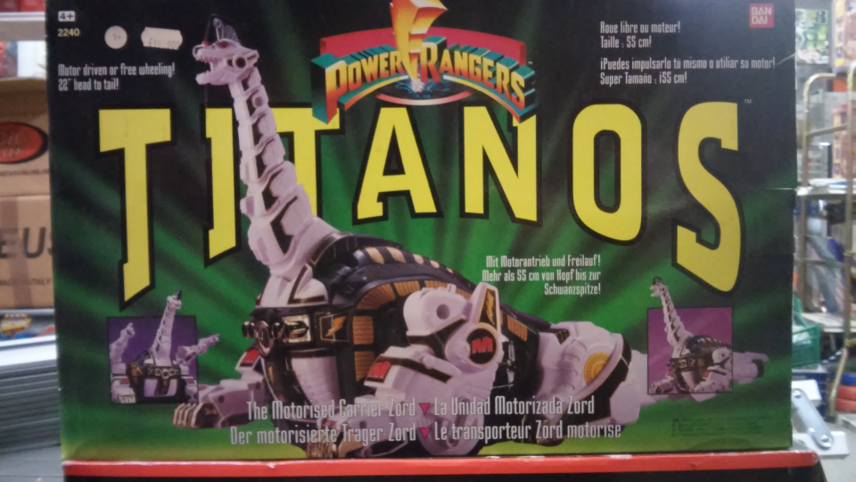 POWER RANGERS TITANOS ANNI 90 / BANDAI 1993/4 MIGHTY MORPHIN
