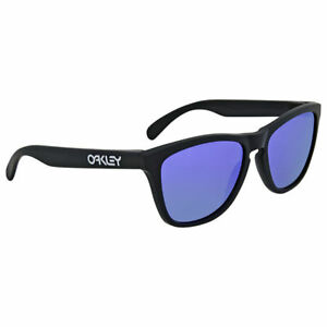bd5f3f819a1 Image is loading Oakley-Frogskins-Violet-Iridium-Sunglasses-OO9013-24-298-