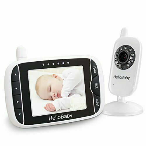 NEW Digital Wireless Video Baby Monitor Night Vision Tempera
