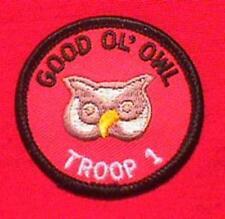 Owl patrol emblem   boy scouts of america.