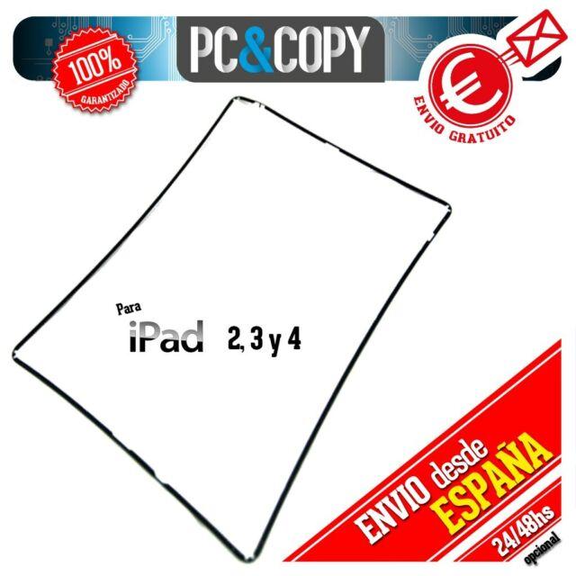 R340 Marco lateral plástico negro iPad 2,3 y 4 black Repuesto fijación pantalla