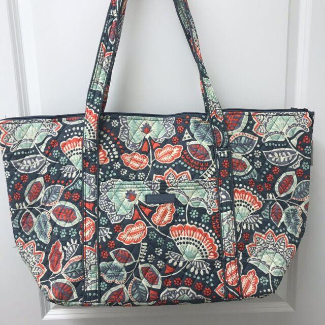 Vera Bradley Miller Tote Travel Bag In Nomadic Floral NWT