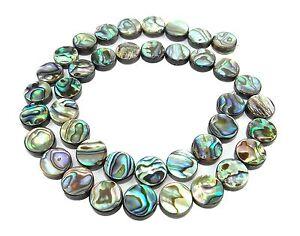 Nacre perles Coquillage perles perles nuggets nacre 40 cm strang beaucoup de couleurs