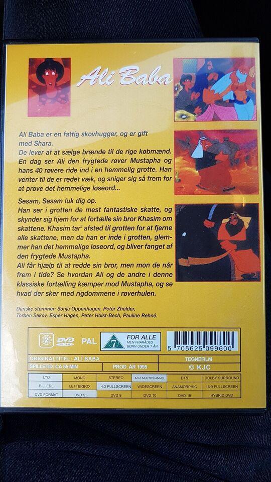 Ali baba, DVD, tegnefilm