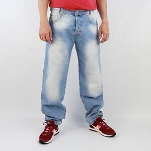 Denim Pour Pantalon Jeans Viazoni Bleue Usedhell Hommes Harry 14076 Couleur wqI5v7