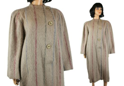 Designer Coat Sz 8 M Vintage 80s Pauline Trigere … - image 1