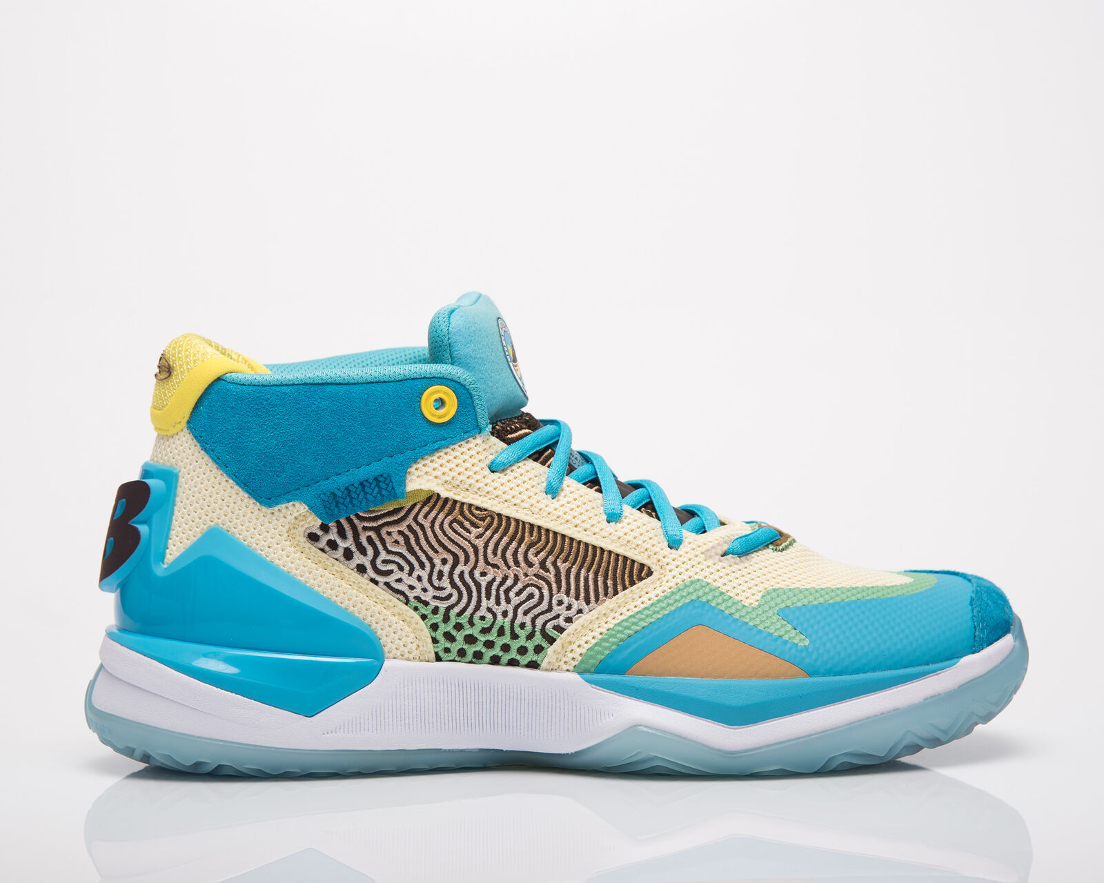 New balance kawhi moreno valley man Bayside Citra yellow basketball shoes