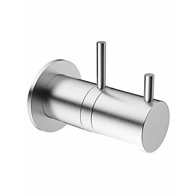 Crosswater Thermostatic Concealed Shower Valve Brushed Steel Finish 85% Off RRP