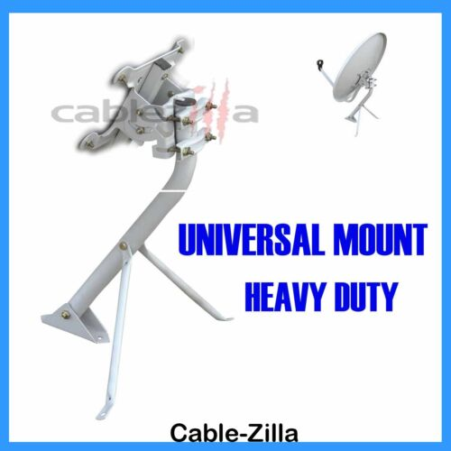 Satellite Dish Antenna Universal Outdoor Tripod Mount Heavy Duty DirecTV Pole