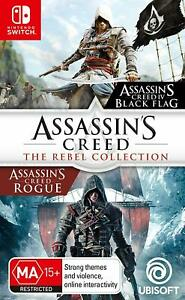 Assassins Creed Iv Black Flag Rogue 2 In 1 Rebel Collection
