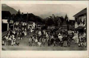 SONNEBERG-Thueringen-alte-Postkarte-Spielzeug-Spielzugmuseum-034-Thueringer-Kirmes-034