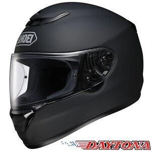 Shoei-Qwest-Negro-Mate-Casco-De-Motocicleta