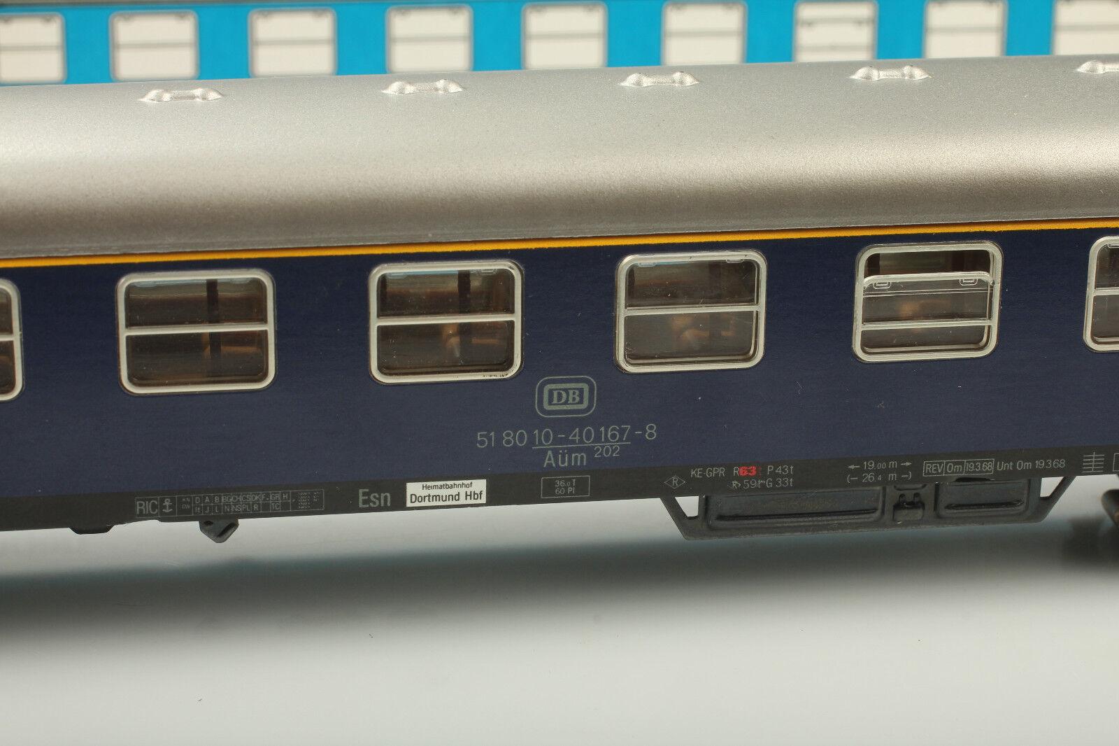 H0 Märklin 4053 Classic D-Zugwagen D-Zugwagen D-Zugwagen mit Schlusslicht Video anschauen OVP Mängel    Die Königin Der Qualität  2628df