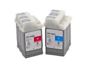 6PCS-SET-PFI-102-ink-cartridge-for-Canon-IPF500-600-650-700-510-610-710-760-765