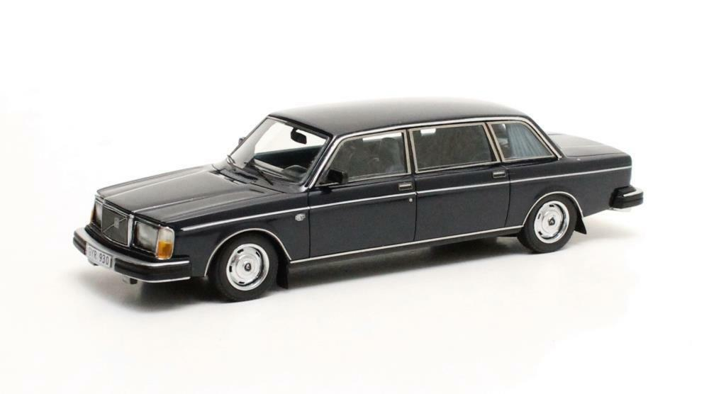 Volvo 264 TE Limousine  Dark azul  1978 (Matrix 1 43  MX12106-021)