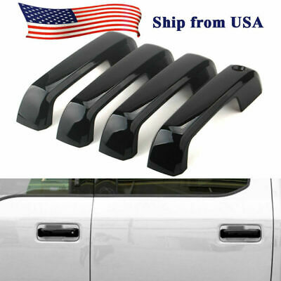Exterior Door Handle Cover Trim Protect For Ford F150 2014 2015-2018 Chrome ABS
