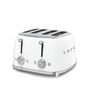 Smeg Toaster 4x4 Weiss Tsf03wheu Autorisierter Handler Ebay