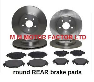 JAGUAR S-TYPE 1999-2004 FRONT AND REAR BRAKE DISCS AND PADS FULL SET *NEW*