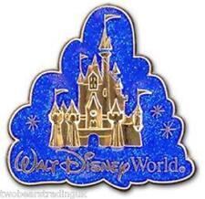 Disney Pin: WDW Cinderella's Castle Glitter Cloud Logo (New/Card)