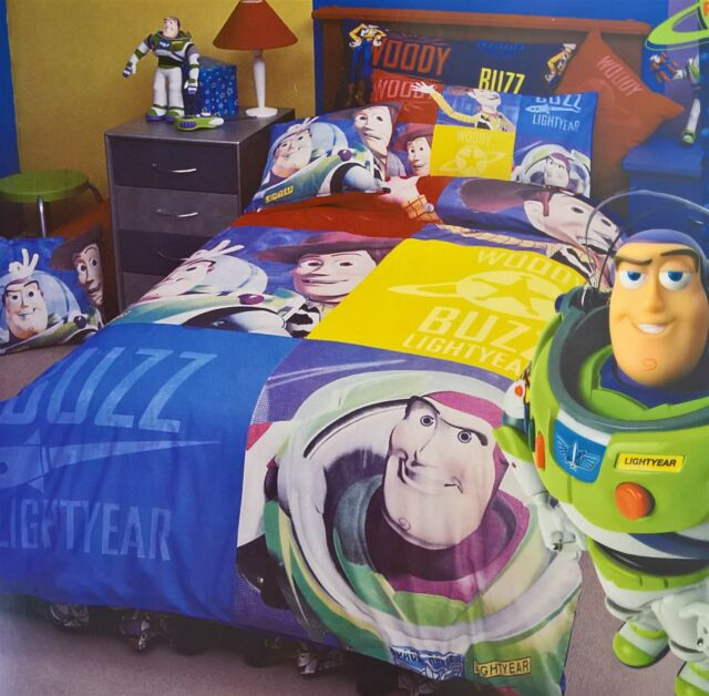Toy Story Buzz Woody Single Doona Duvet Quilt Cover Set Twin Ebay