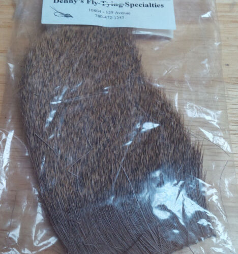 dyed and natural Assorted types and sizes Deer Hair Pieces