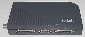 Initiative Printserver Intel Netportexpress (np5264ee), Jusqu'à Trois Imprimante Au Réseau Local-afficher Le Titre D'origine