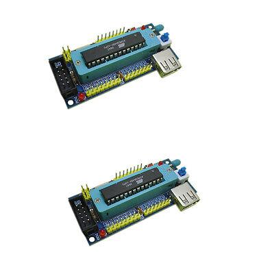2PCS ATmega8 ATmega48 ATMEGA88  Development Board AVR (NO Chip) Vc Nice