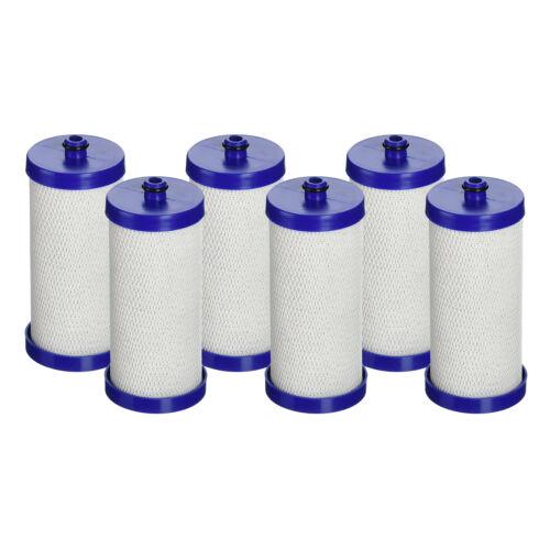 Aqua Fresh Water Filter 6pk Fits Frigidaire 240394501 Refrigerators