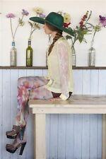 Bonnie Doon Strumpfhose Modell: FLOWER FUSION TIGHTS Gr. L Neu 50 DEN