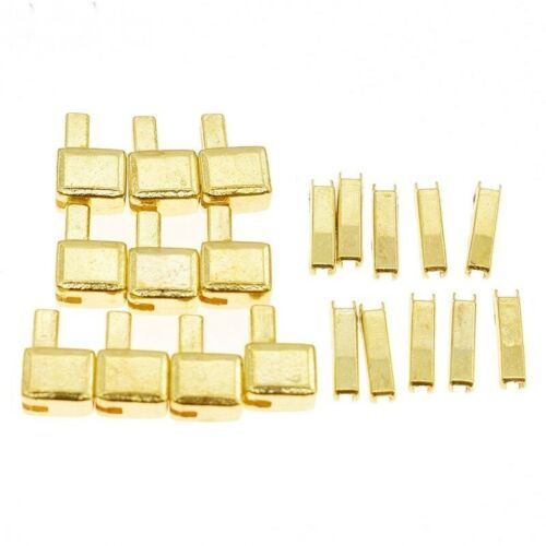 Zipper Bottom Stops Open Stoppers Repair Sewing Brass Clothes Tailors Accessory