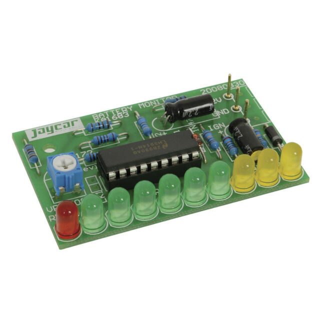 NEW Car Battery Monitor Kit KA1683 Assembly Required