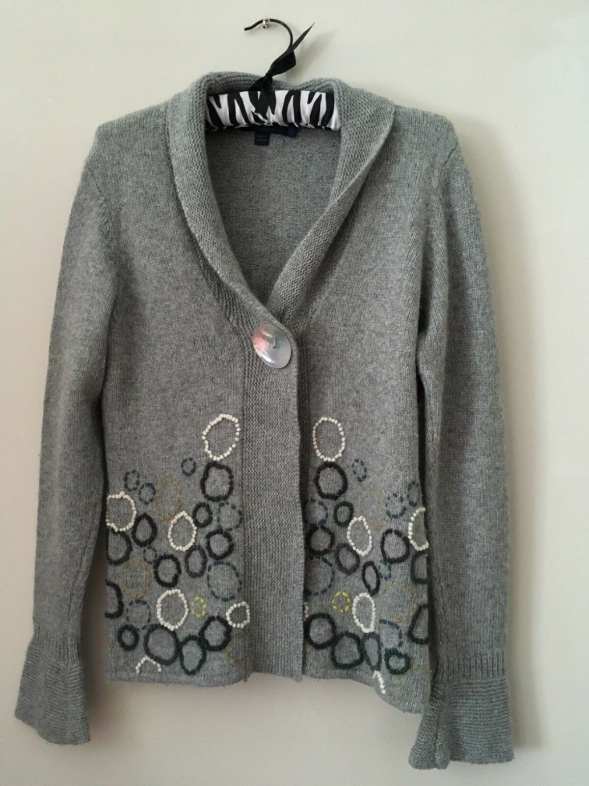 BODEN CARDIGAN, SIZE 14, WOOL MIX, SUPER SOFT, FABULOUS QUALITY, WORN ONCE