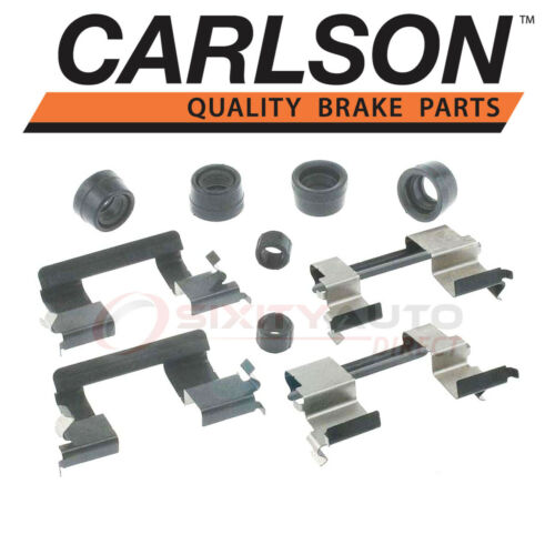 Pad ij Carlson Front Disc Brake Hardware Kit for 2004-2008 GMC Canyon