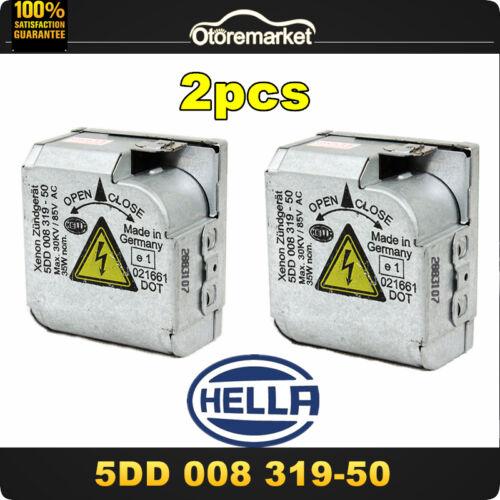 2× 03-07 Saab 9-3 Xenon Ballast D2S HID Headlight Control Unit Igniter OEM Hella