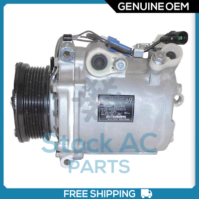 NEW A//C Compressor for Mitsubishi Lancer 2008-2011 2.0 Liter with TURBO ENGINE