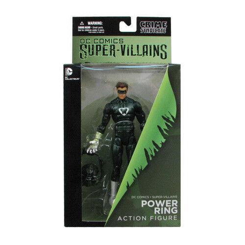 DC Comics Super Villains Crime Syndicate Power Ring Figure green lantern