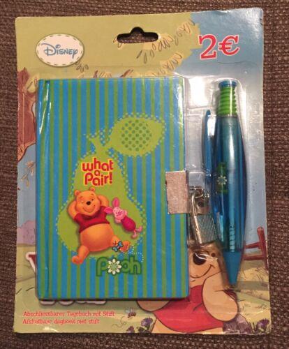 Winnie the Pooh 1 wunderschönes Tagebuch /& Kugelschreiber