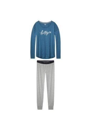 Femmes Pyjama NOUVEAU /& NEUF dans sa boîte Taille XS//S//L Tommy Hilfiger des Penne Set LS pyjama