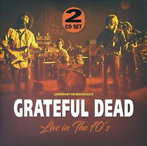 GRATEFUL-DEAD-LIVE-IN-THE-70-039-S-2-CD-NEW