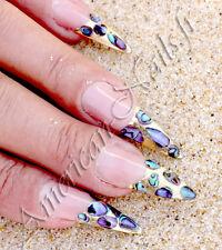 20 grammes Paillettes de Nacre d'abalone bijoux ongle Nail Art