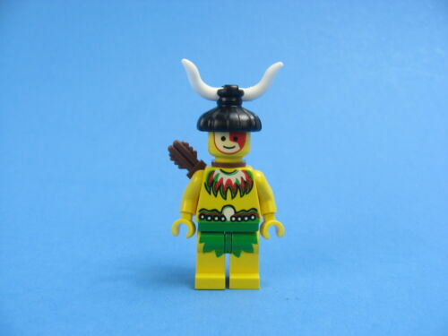 Vintage LEGO Male Islander Minifigure Pirate w//Quiver 6246 6264 6278 6292