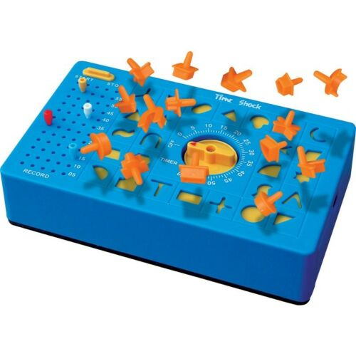 04019 BEAT THE CLOCK FRANTIC MATCHING SHAPE TIMED KIDS FUN TIME SHOCK GAME