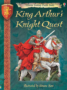 Very-Good-King-Arthur-039-s-Knight-Quest-Usborne-Fantasy-Puzzle-Books-Hardcover