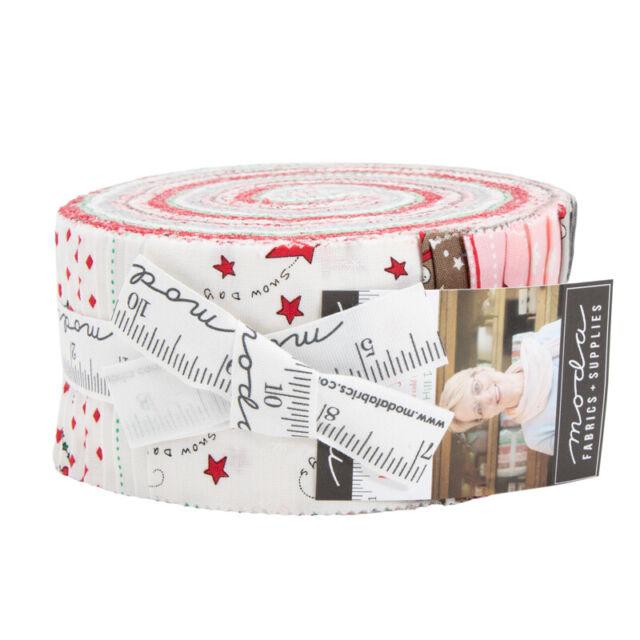 Gingiber Bramble Jelly Roll 40 2.5-inch Strips Moda Fabrics 48280JR